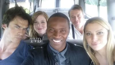 Фото со съемок седьмого сезона