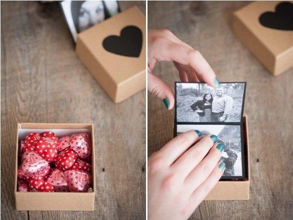 Как сделать своими руками подарок на день влюбленных