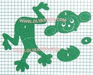Ёлочная игрушка обезьяна своими руками из бумаги