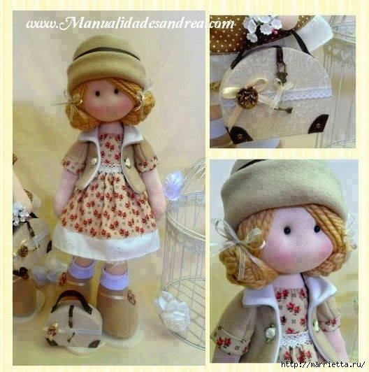 Для кукол своими руками мастер класс