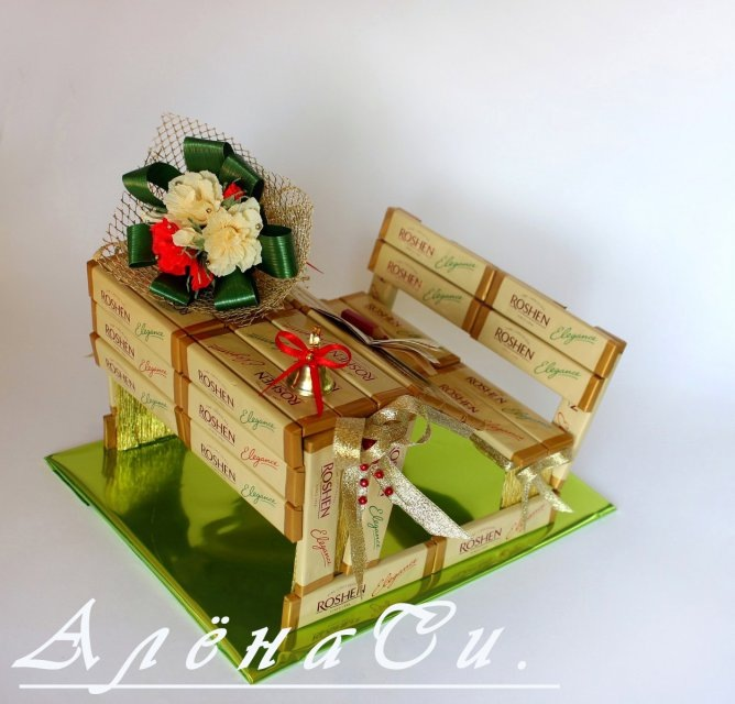 Подарки из конфет своими руками мастер класс для мужчин