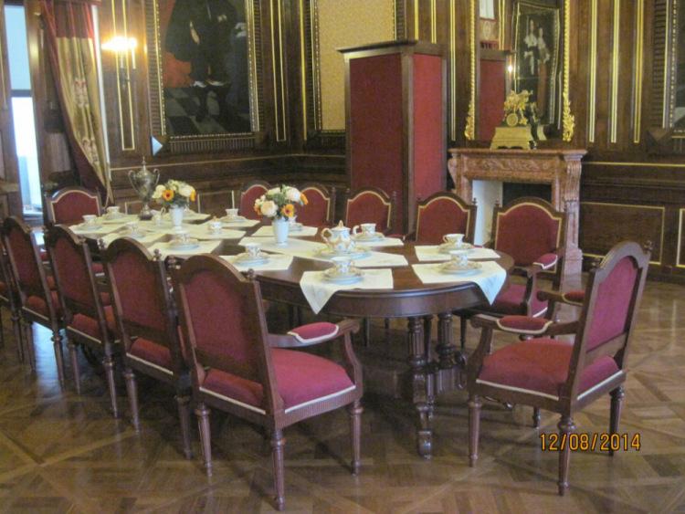 Малый столовый зал. Замок Несвиж