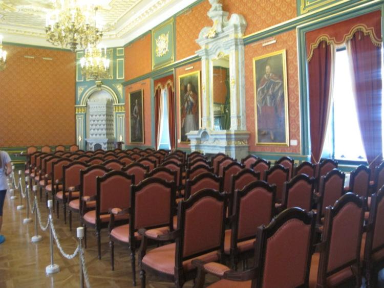 Гетманский зал замка Несвиж