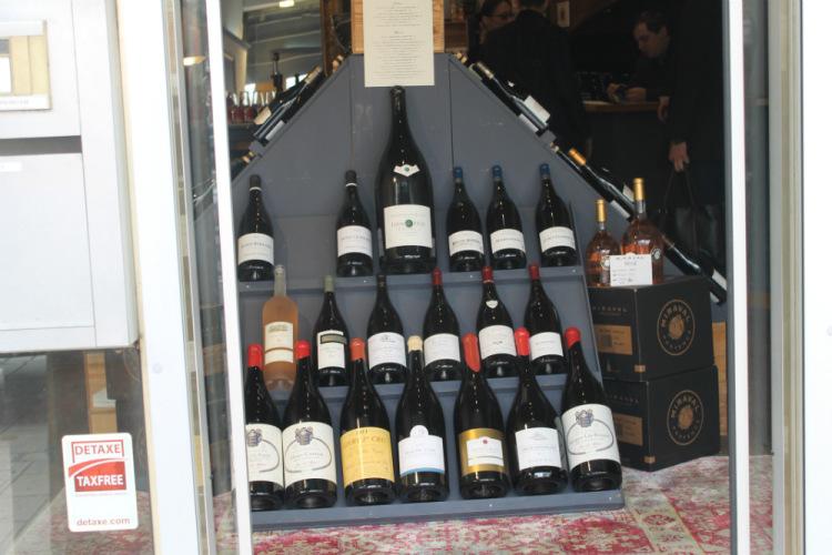 Франция. Бон. Вино.