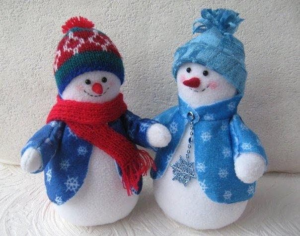 Фото снеговики своими руками